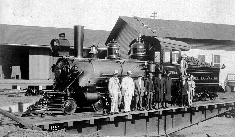 اولین قطار ساخته ساخته شده
