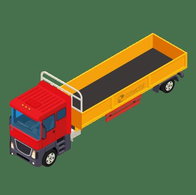 ابعاد کامیون تک