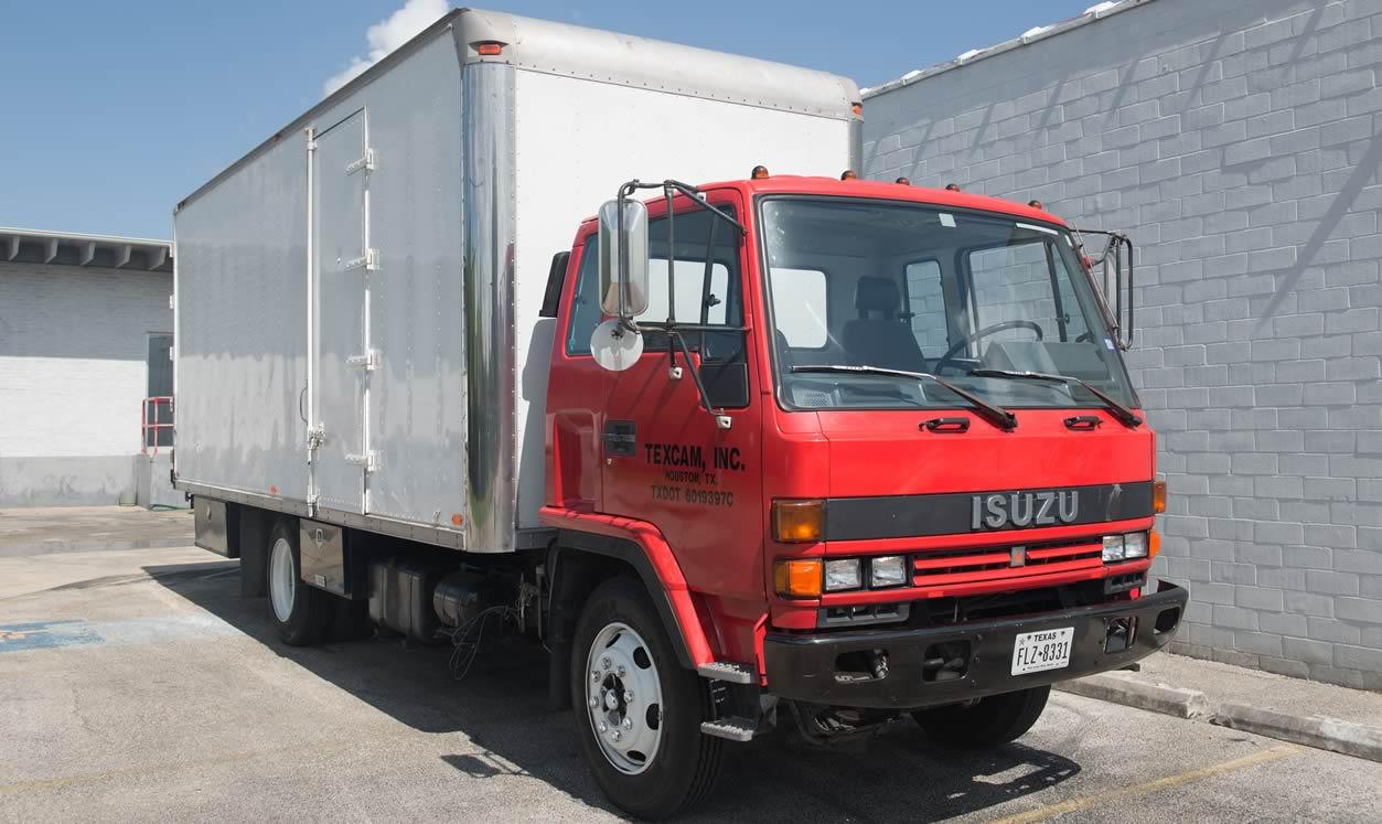 مشخصات کامیون ایسوزو