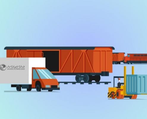 مقایسهی حمل و نقل ریلی با جاده ای