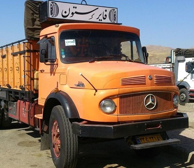 باربری به اهواز با کامیون