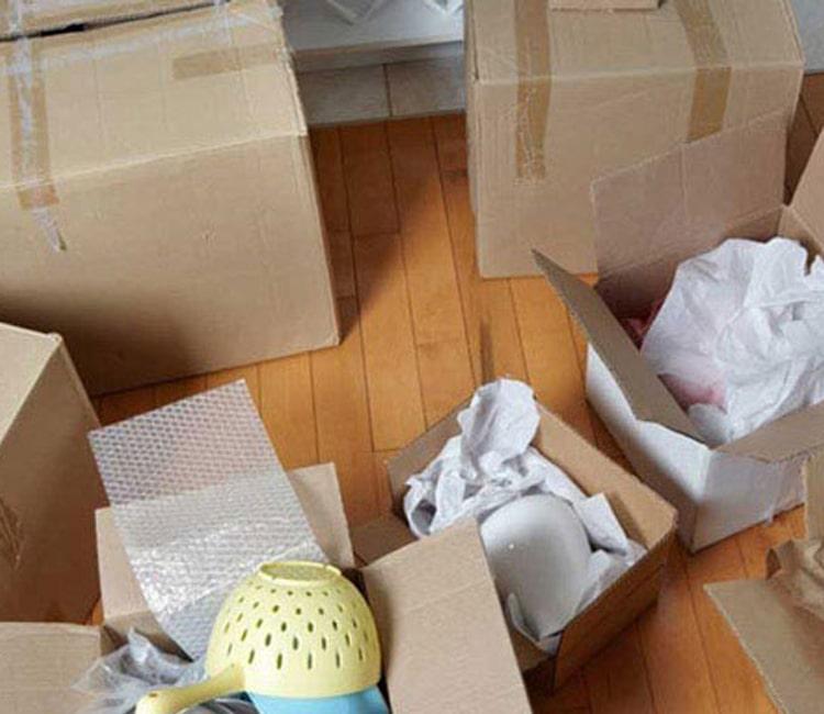 خدمات جهان پیمان بار برای حمل اسباب منزل